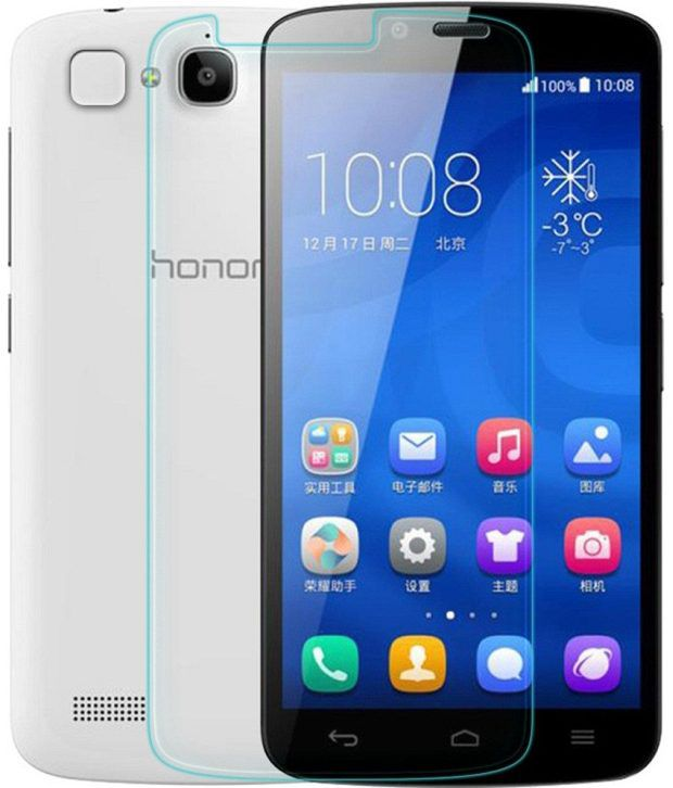 Huawai Honor Holly Tempered Glass Screen Guard by Kolorfame