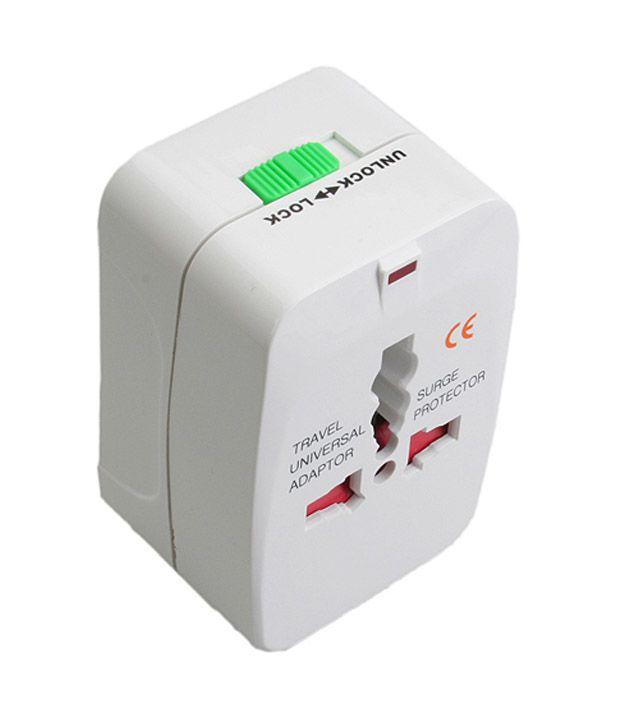 Paracops All In One Universal Travel Charger Adapter Plug