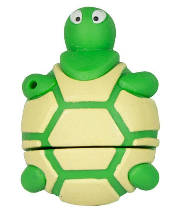 Zeztee Turtle 8 GB Pen Drives Multicolor