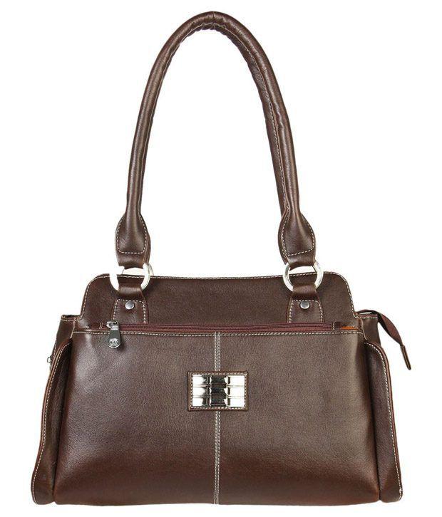Louise Belgium Brown Shoulder Bag