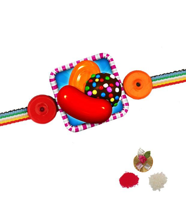 Asthetika Candy Crush Rakhi