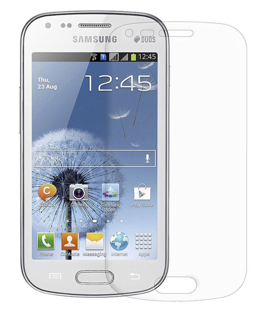 Samsung Galaxy S Duos Tempered Glass Screen Guard by Uni Mobile Care