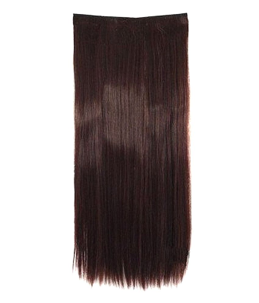 Artifice Clip On Off Fake Hair Extension 22 200 Gm Brown Buy