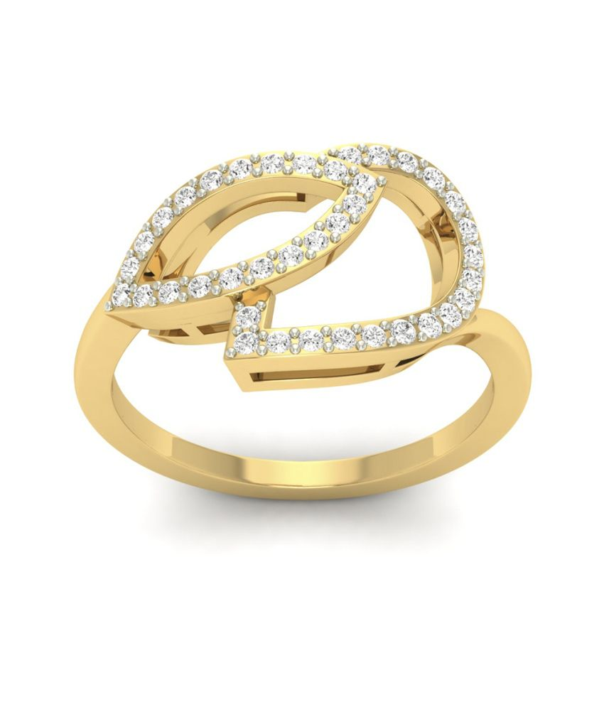 Jewels5 18kt Gold Contemporary Ring