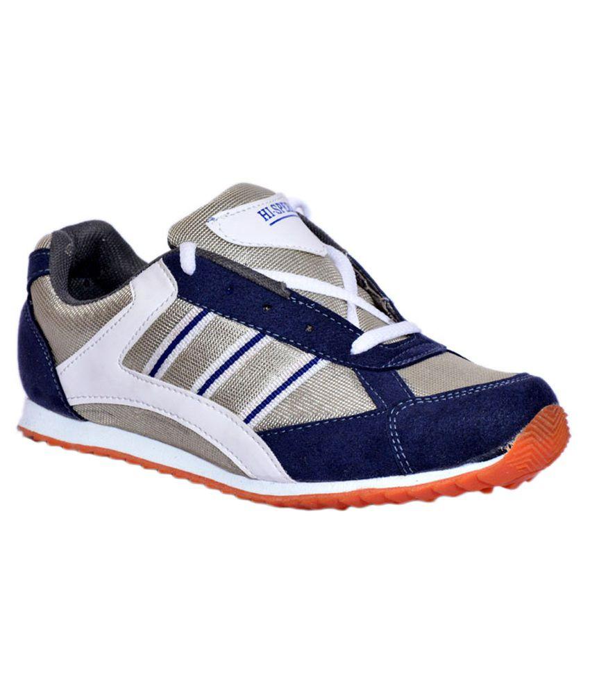 Hi-speed Gray Running Mesh Sport Shoes