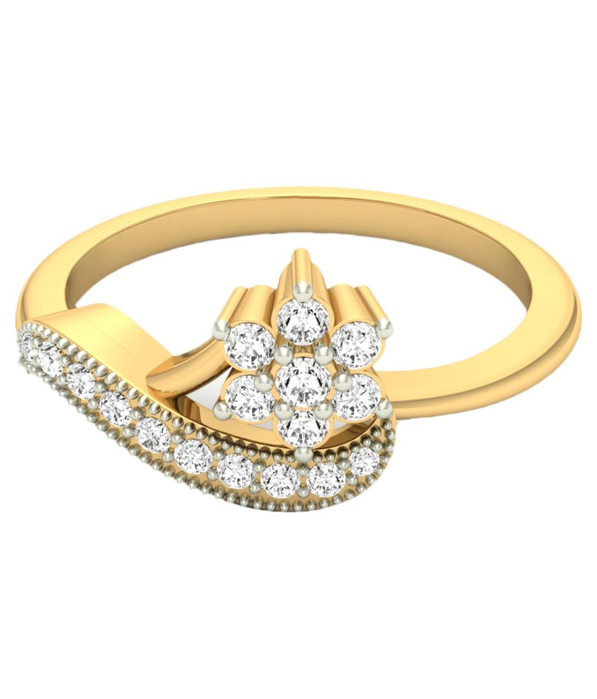 jewels5 18 carat gold ring available at snapdeal
