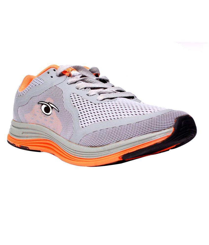 Prozone Gray Laced Men's Sport Shoe