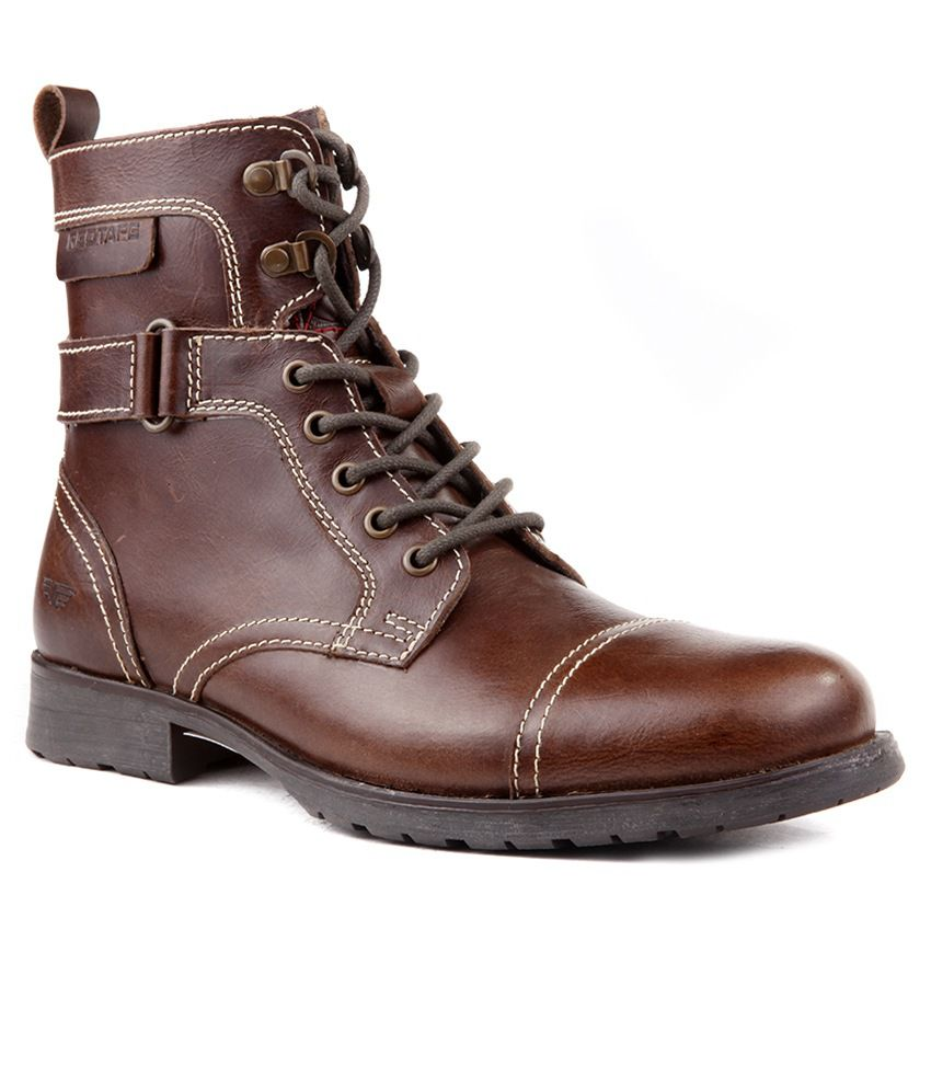 Red Tape RTS6228 Brown Boots - Buy Red Tape RTS6228 Brown ...