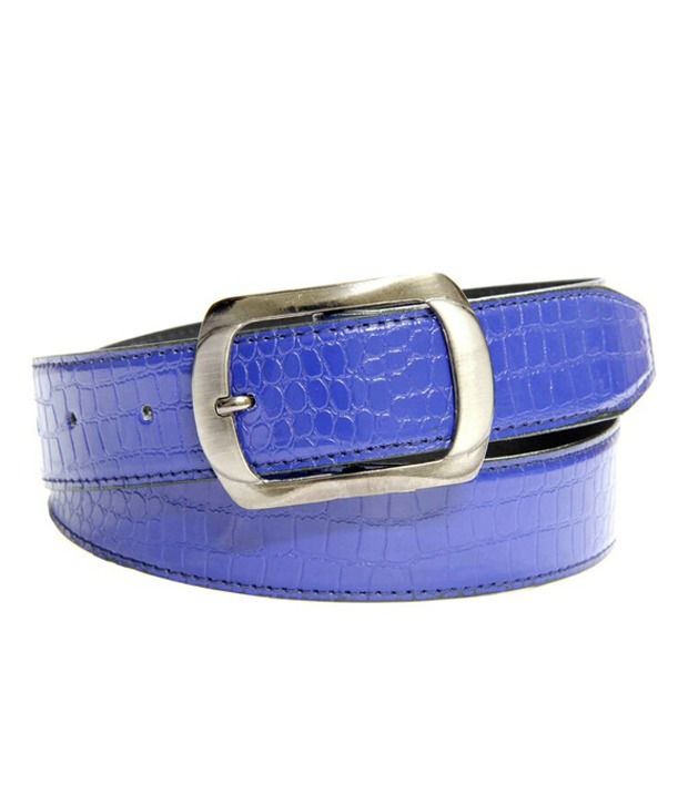 Skyways Blue Casual Single Belt ForMen
