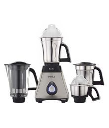 Preethi Steel Supreme MG 208 750-Watt Mixer Grinder (Silver/Black)