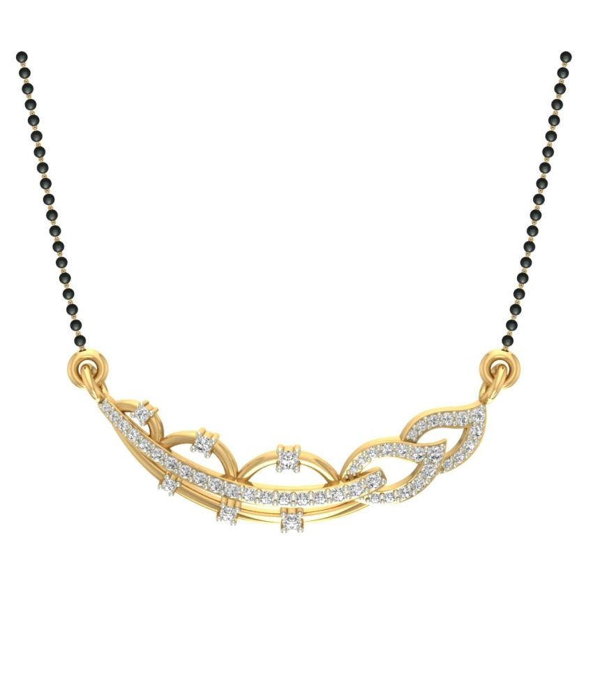 Jewels5 18Kt Gold Contemporary Mangalsutra