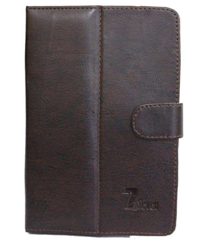 Jo Jo G3 Tiachi Flip Flap Case Cover Pouch Carry For Celkon C720 Dark Brown