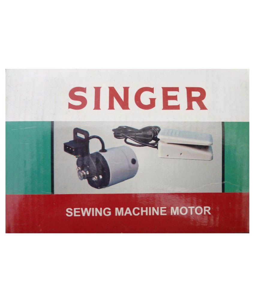 Singer 6600 Rpm Sewing Machine Motor - White Price in ...