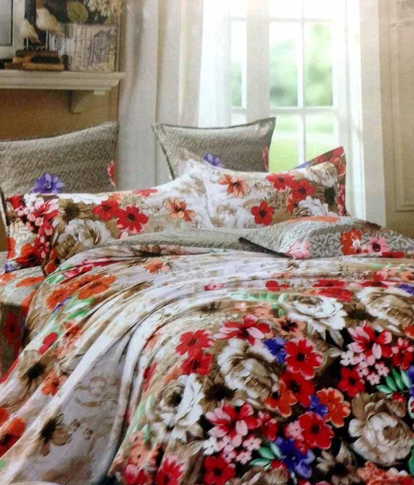 Cozy Home Decor Multicolour Contemporary Poly Cotton