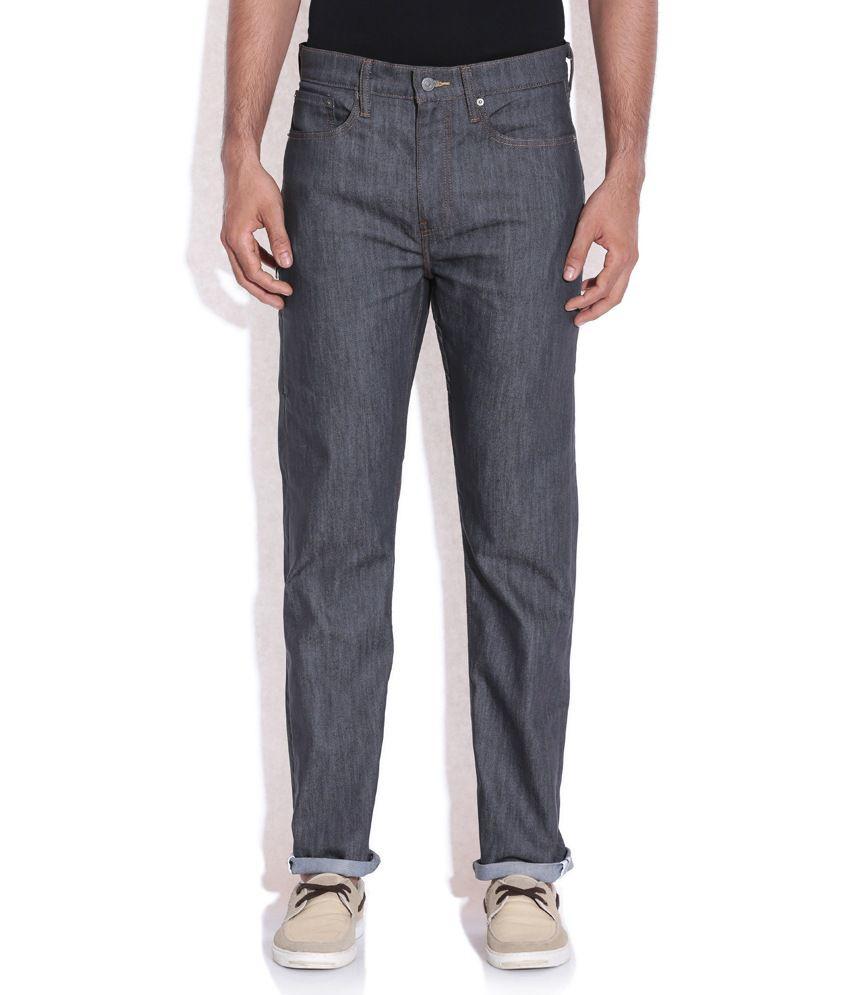 Levis Gray Basics Jeans 522