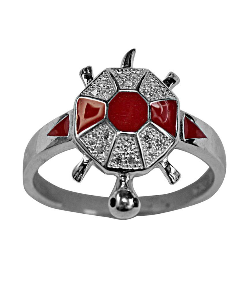 Navkaar Creation 92.5 Sterling Silver Ring