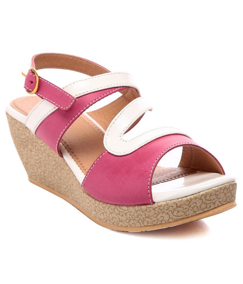 Nell Amazing Pink Heeled Sandals