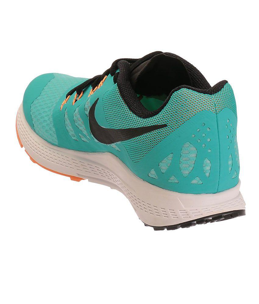 32b15b83b7092e Nike Air Zoom Elite 7 Aqua Blue and Black Sports Shoes - Buy Nike ...
