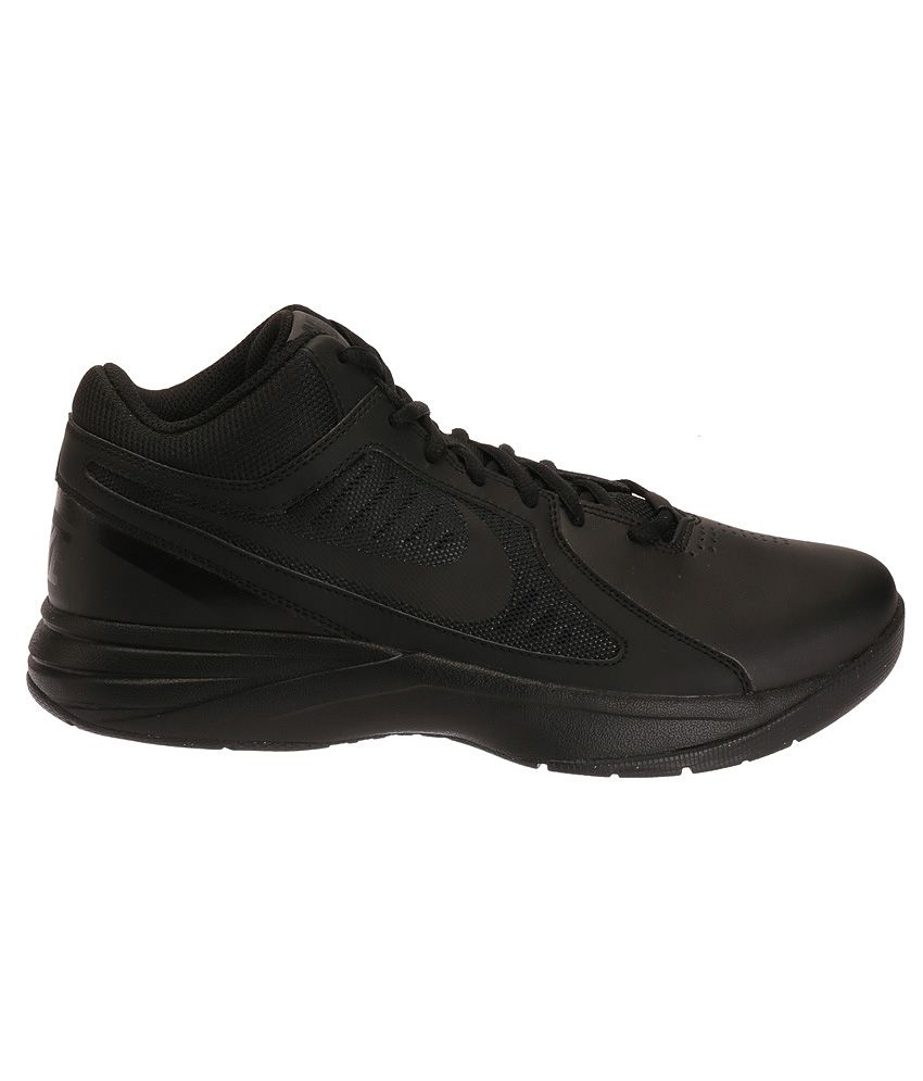 f83aab8e9374 Nike The Overplay Viii Black Sports Shoes - Buy Nike The Overplay ...