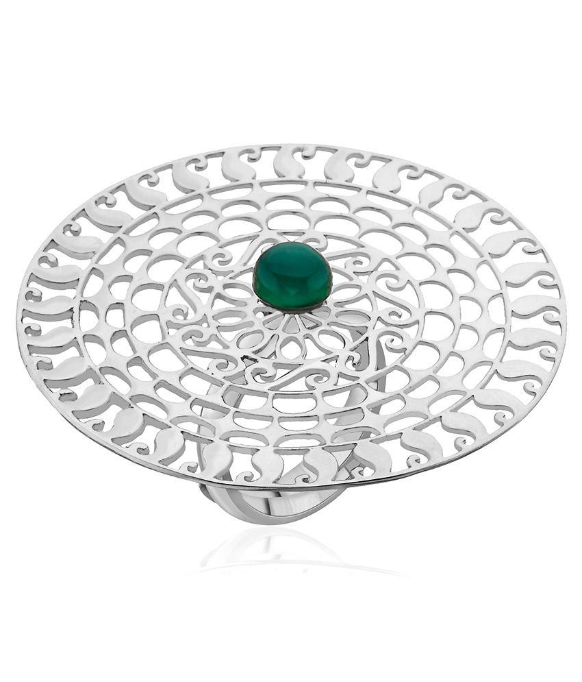 Ahilya 92.5 Sterling Silver Ring