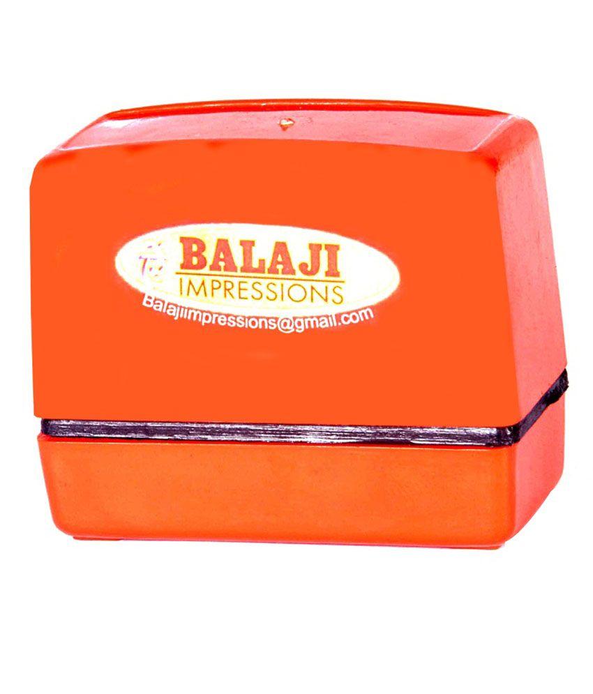 Balaji Impressions Stamping Machines