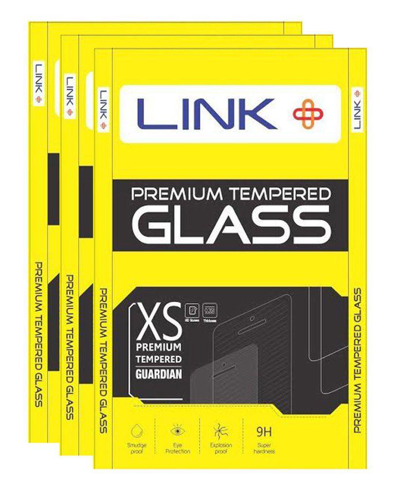 Intex Aqua Y2 Clear Screen Guard by Link Plus