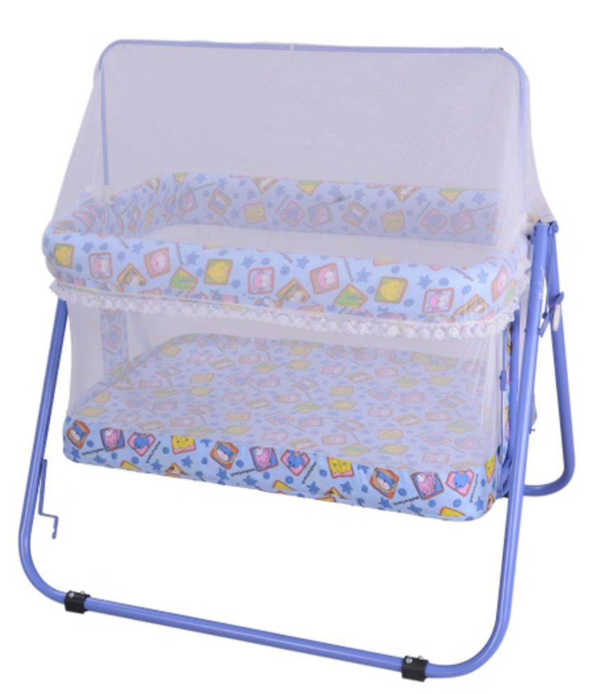 Mothertouch Jumbo Cradle Light Blue