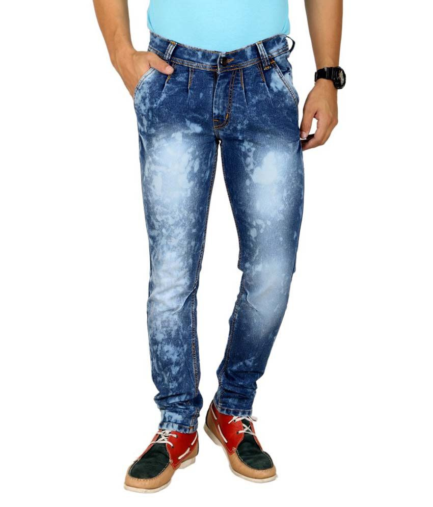 K'live Blue Regular Jeans