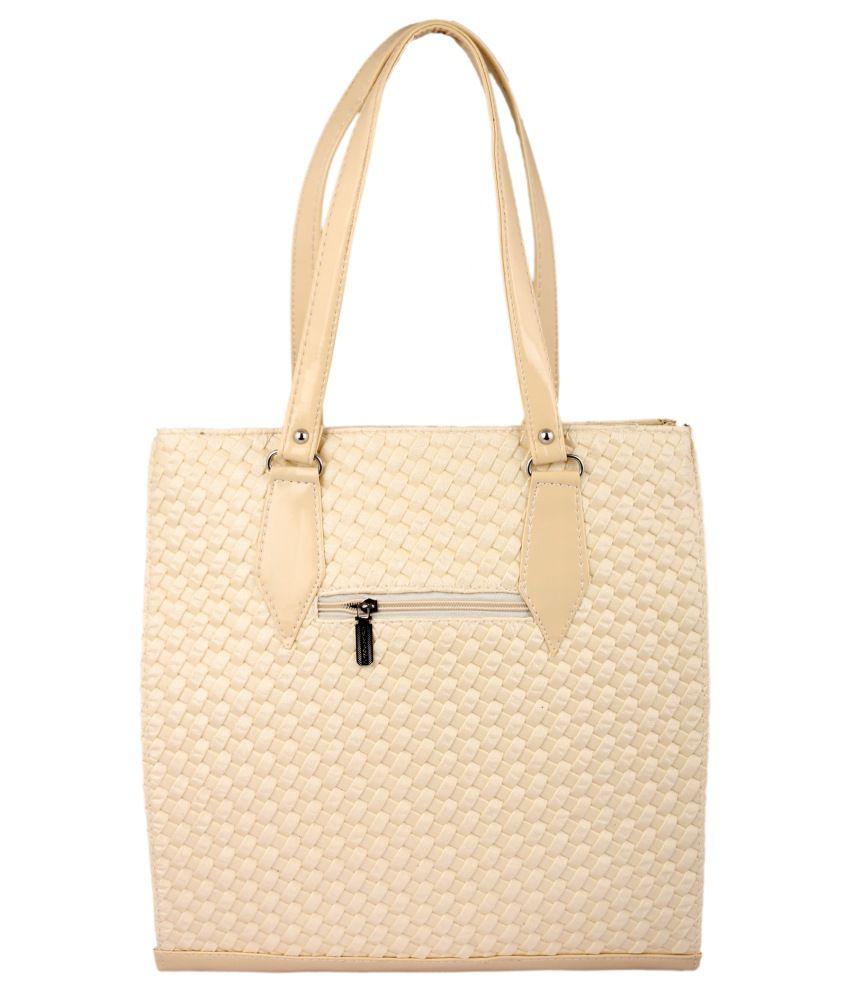Zoomika.com Beige Shoulder Bag