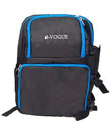 E-Vogue DSLR Camera Bag with Laptop Compartment, Tripod Holder and Rain Cover