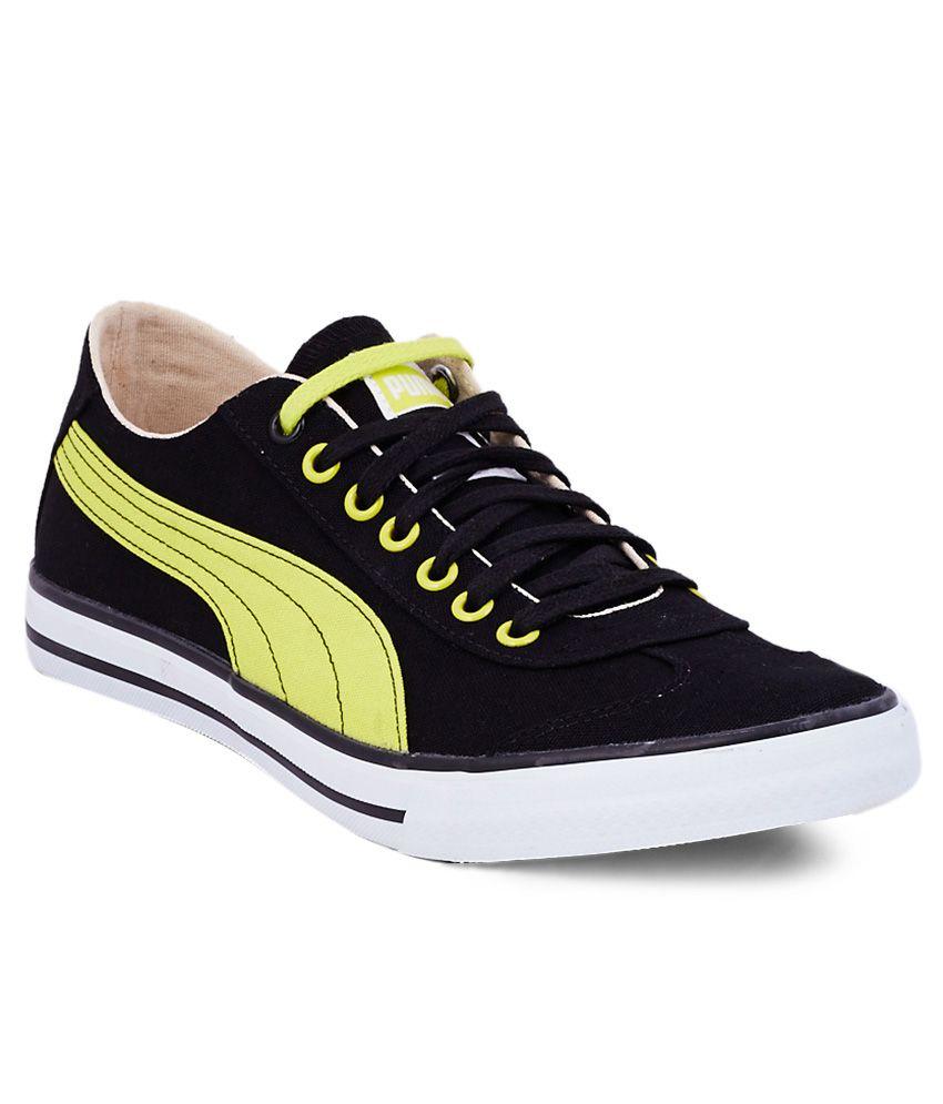 buy puma 917 lo black casual shoes for men snapdealcom