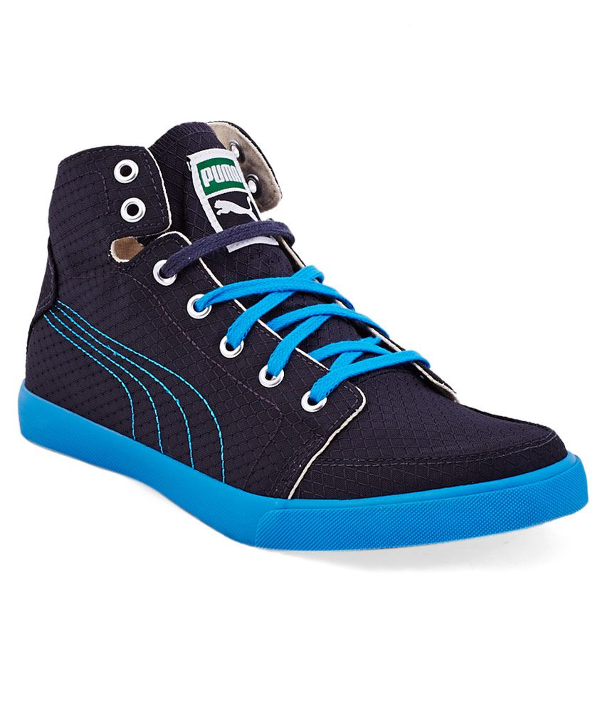 Puma Navy Sneaker Shoes - Buy Puma Navy Sneaker Shoes ...