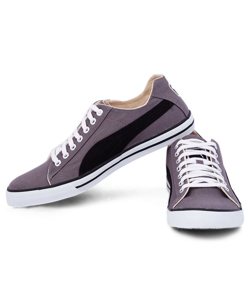 Puma Gray Sneaker Shoes