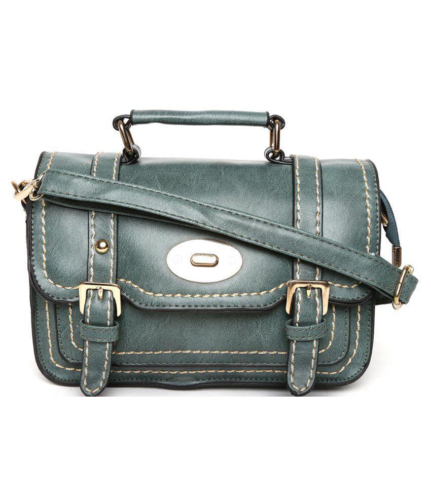 Tasset Khaki Sling Bag