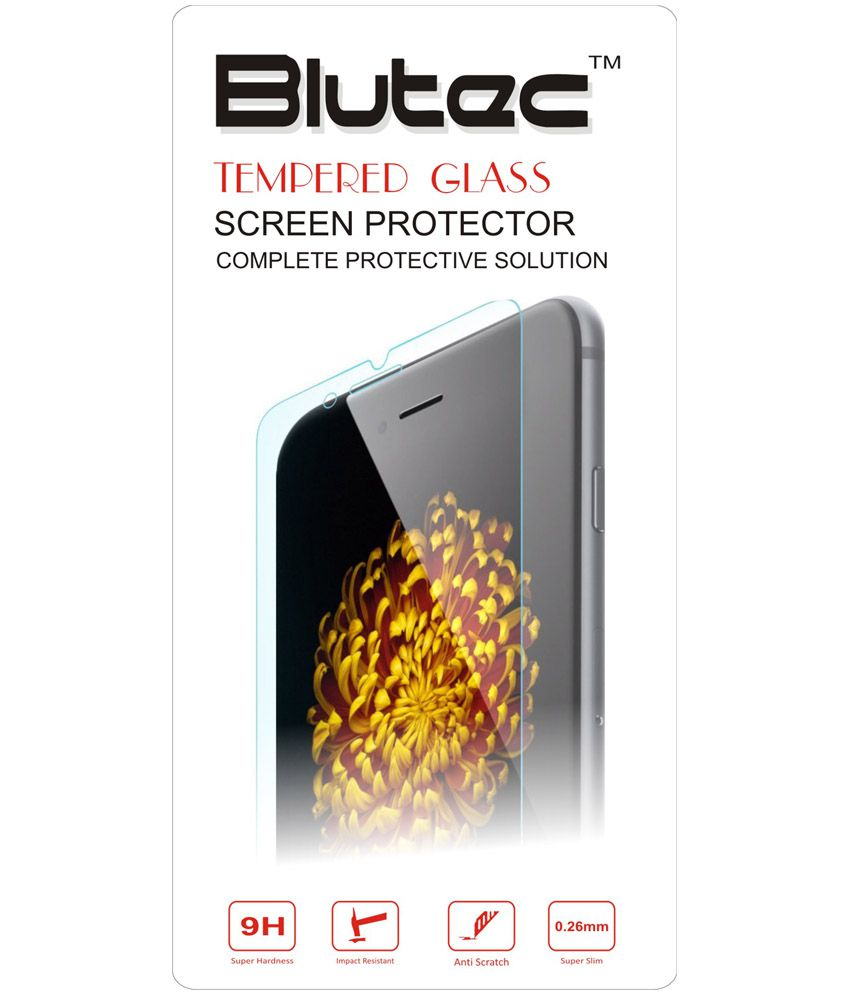 Blutec Tempered Glass Screen Protector For Microsoft Lumia 532