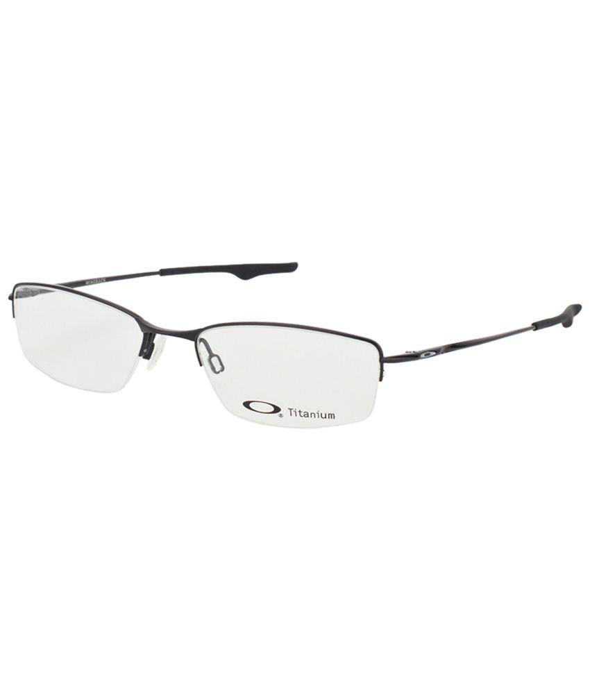 c7a0e8c3af Oakley OX-5089-01-53 Wingback Exquisite Black Unisex Rectangular Eyeglasses  Frame with Carry Case. - Buy Oakley OX-5089-01-53 Wingback Exquisite Black  ...
