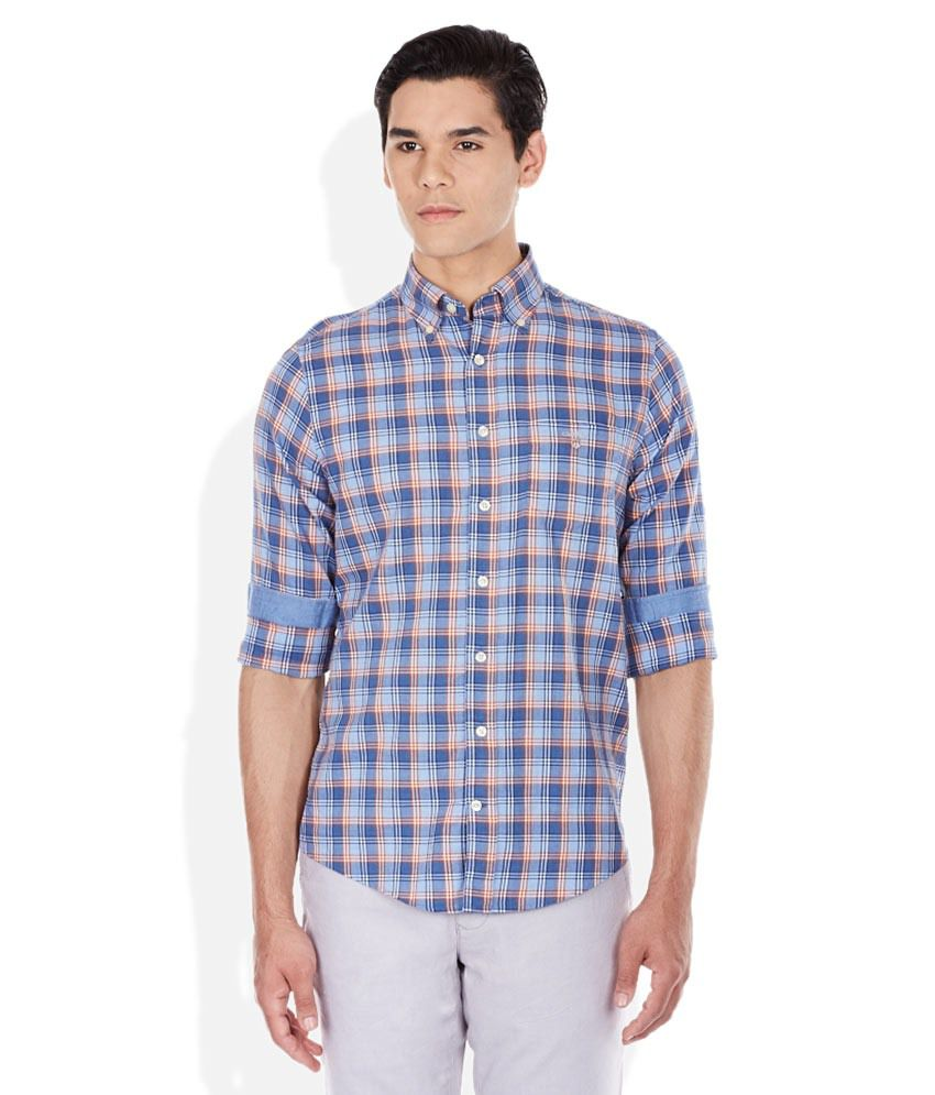 Gant multicoloured plaid shirt buy gant multicoloured for Buy plaid shirts online