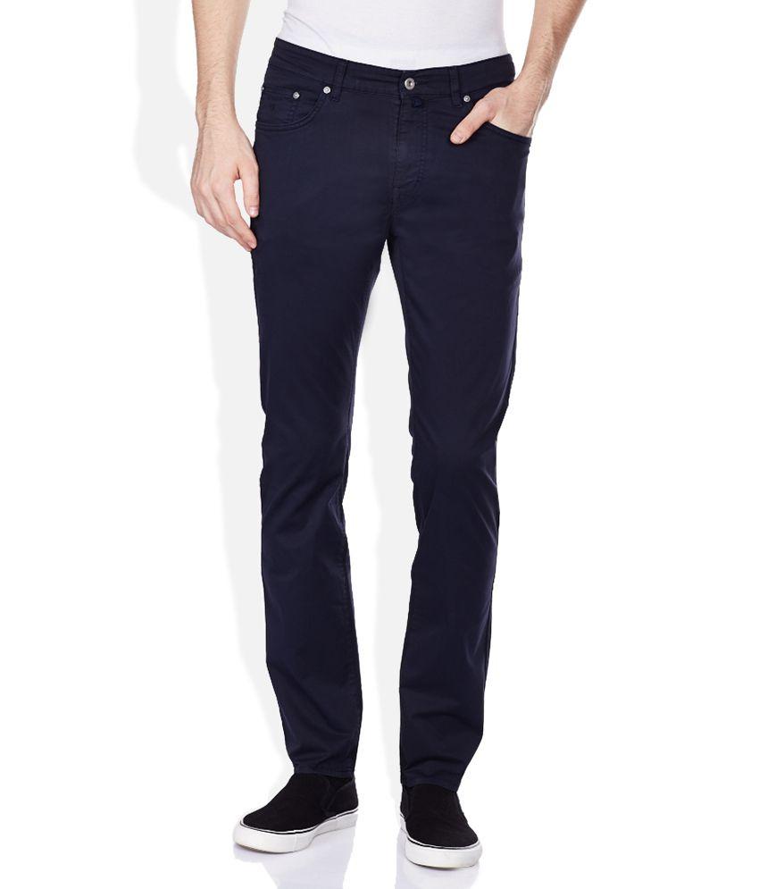 GANT Navy Raw Denim Slim Fit Jeans
