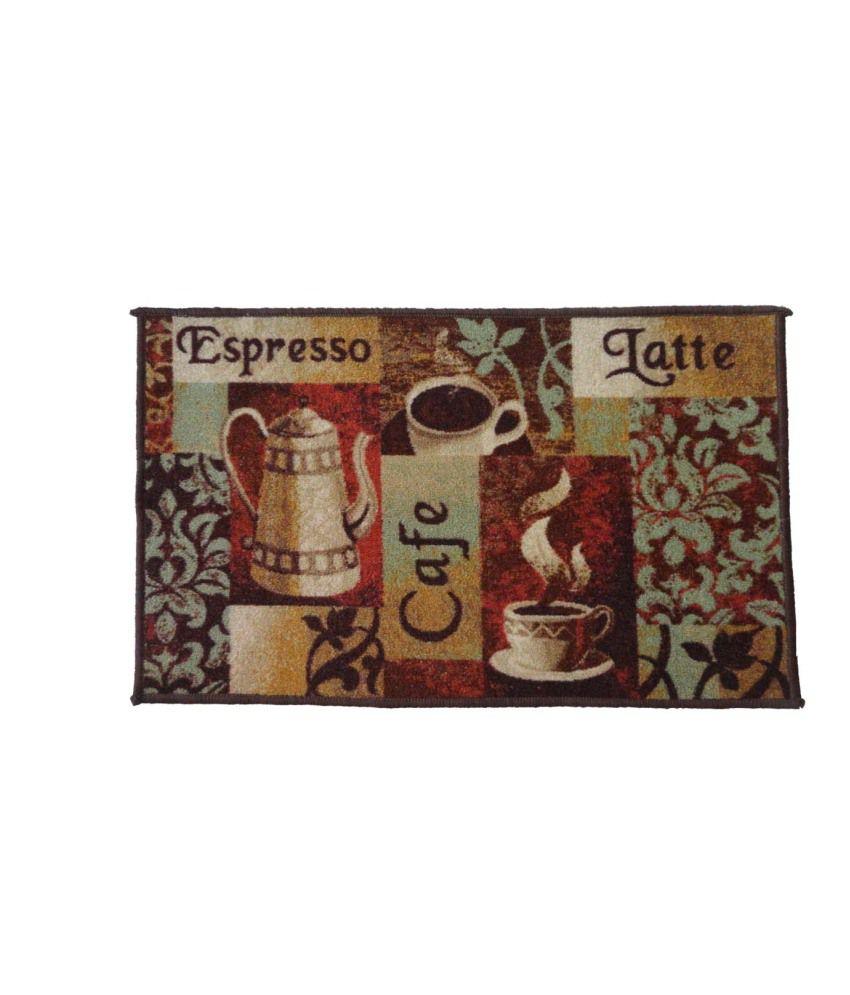 Luk Luck Port Brown Cafe Xpress Jute Mat