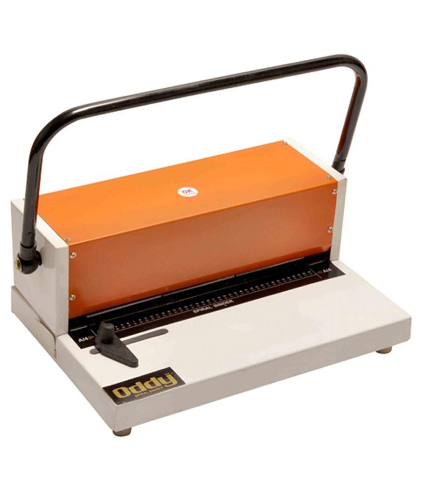 Oddy Spiral Binding Machine 12 Inch: Buy Online At Best