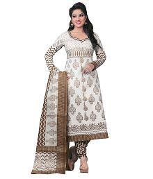 White Salwar Suits: Buy White Salwar Kameez Online at Low Prices ...