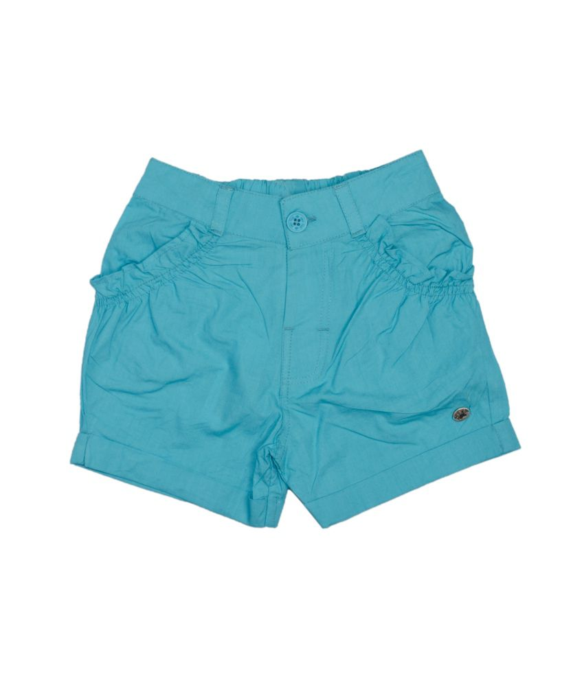 Fs Mini Klub Blue Cotton Shorts