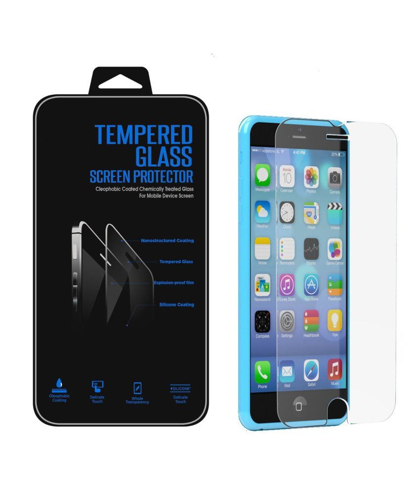 Apple Apple iphone 5S Tempered Glass Screen Guard by JR