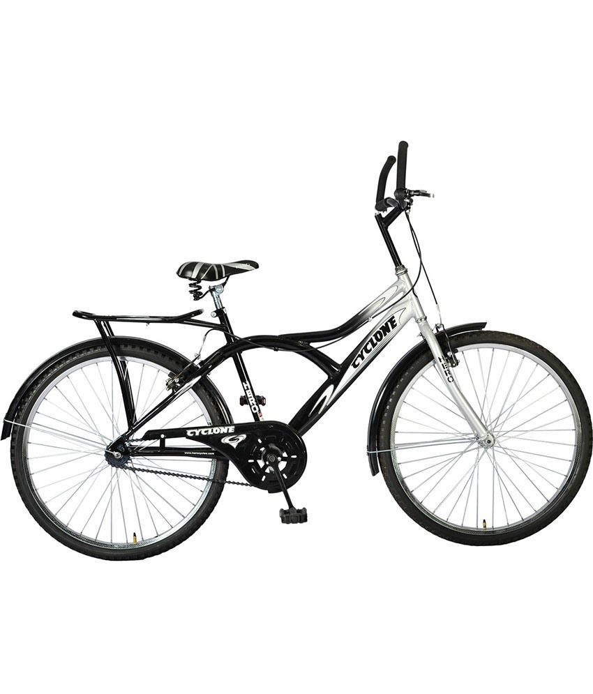 Hero Silver Black Cyclone 26t Adult Mountain Bicycle Buy Online