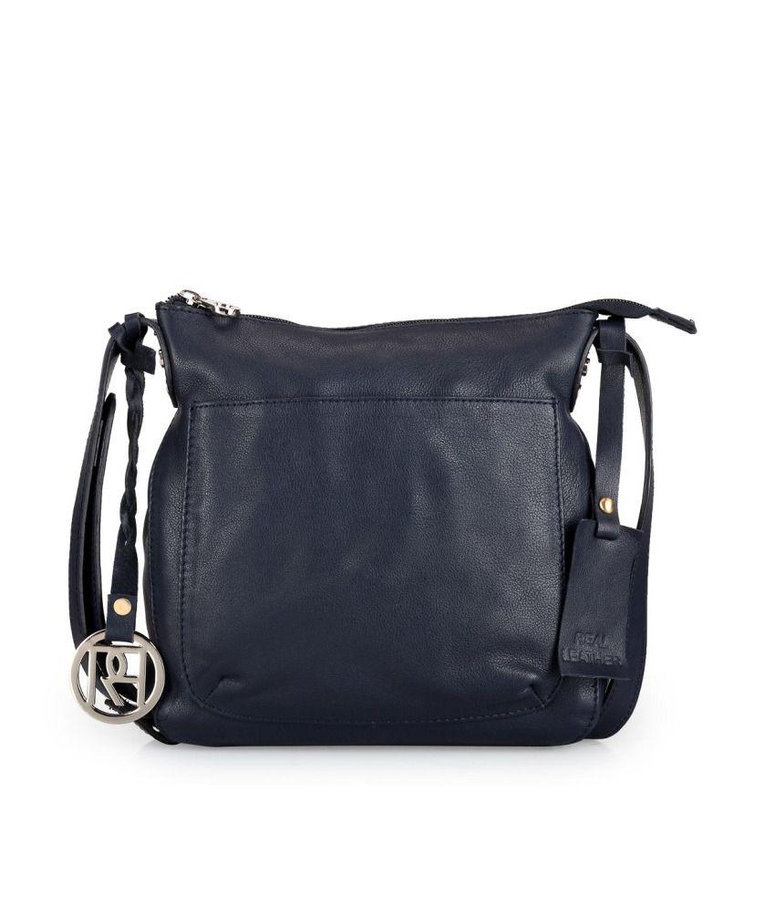 Phive Rivers PR975 Navy Blue Sling Bag