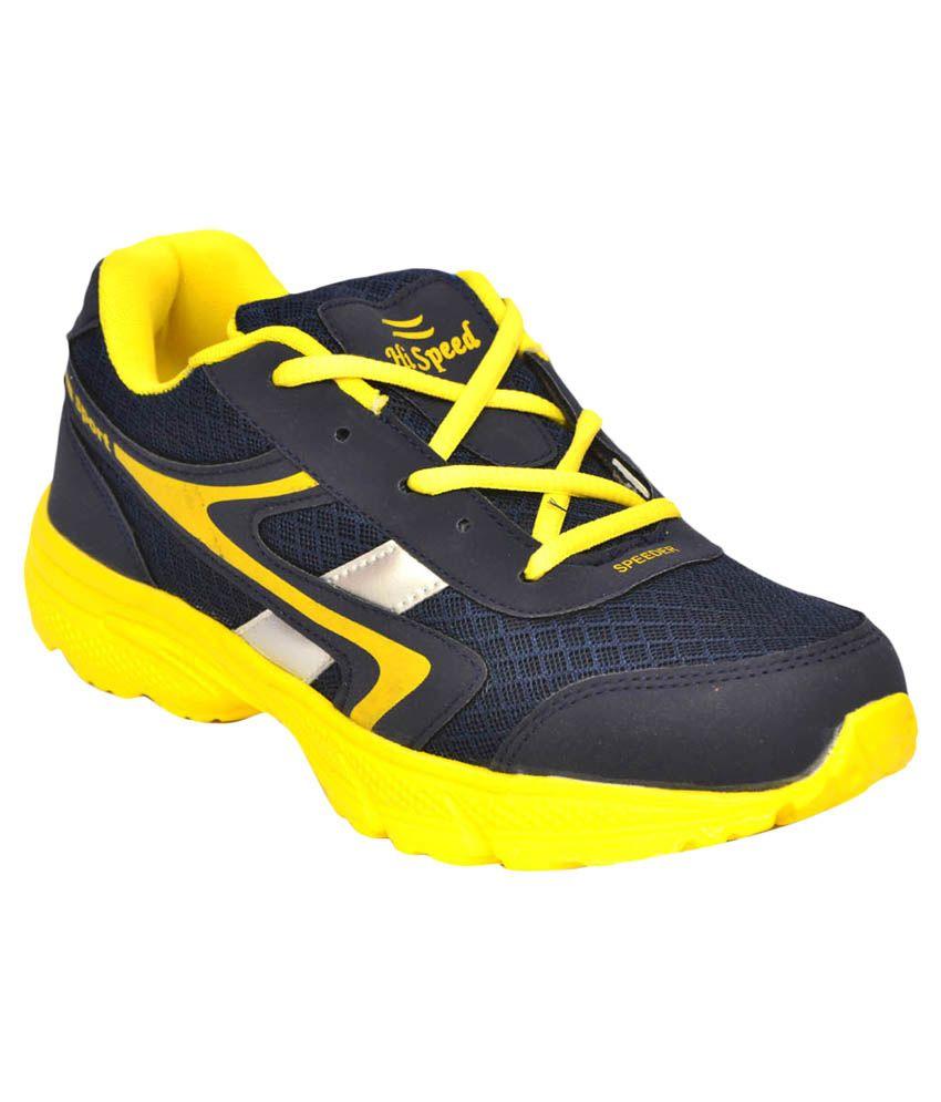 Hi-Speed Navy Running Sport Shoes