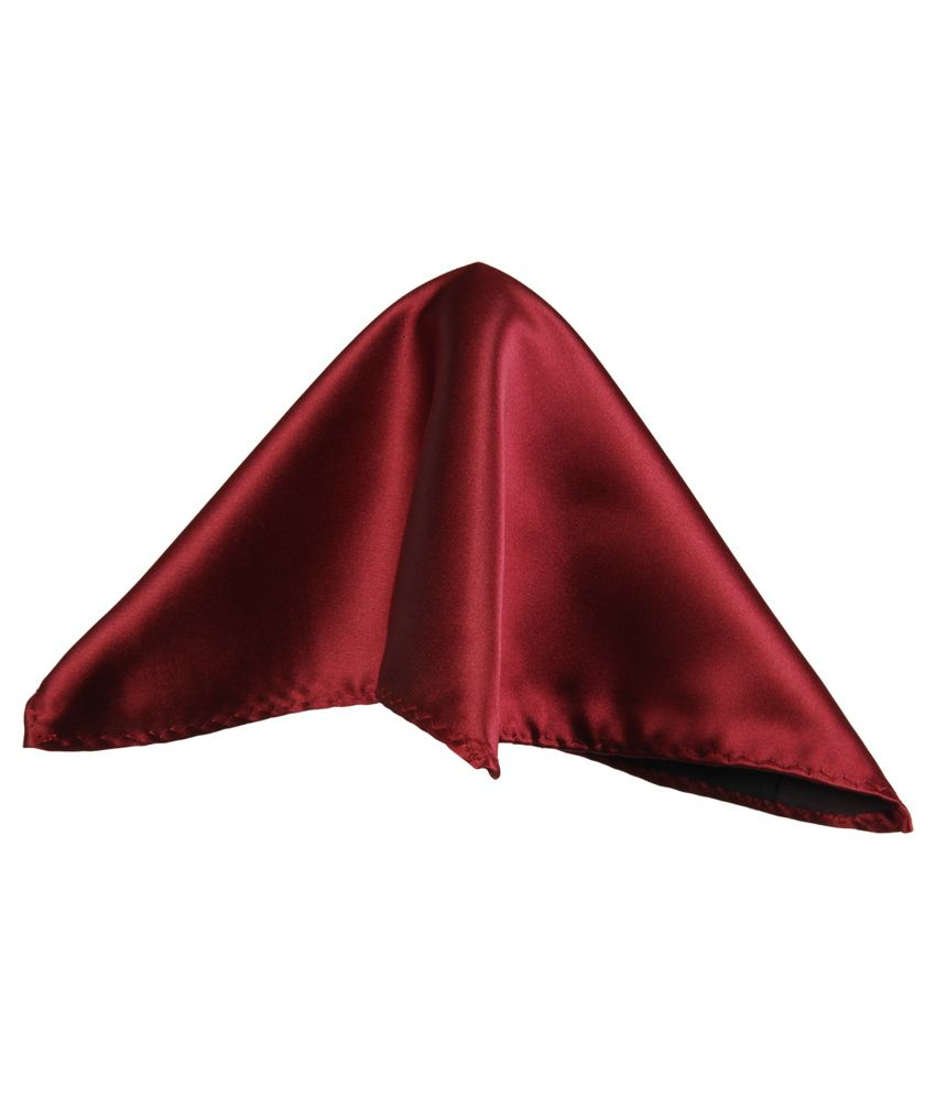 e590d63956e66 Classique Maroon Silk Pocket Square: Buy Online at Low Price in India -  Snapdeal