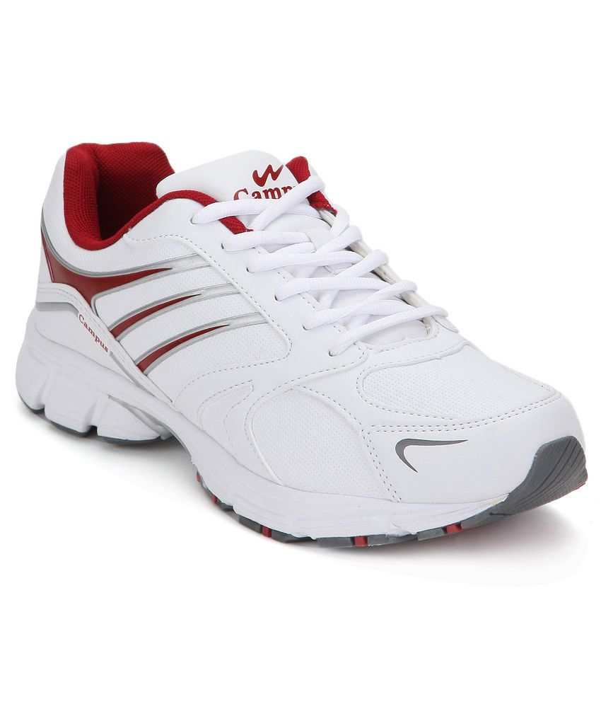 Drone White Sport Shoes - Buy Campus Drone White Sport Shoes Online ...