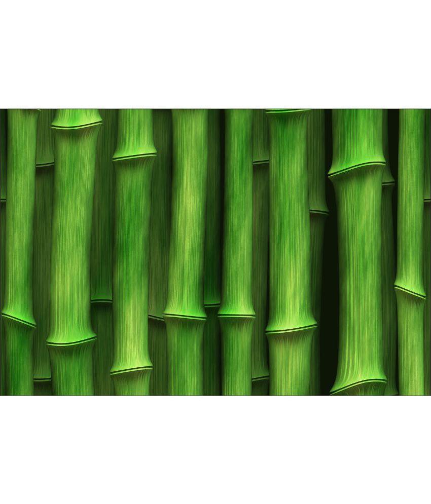 Retcomm Art Digital Print Wall Art Green Bamboo Others