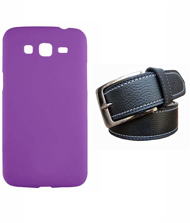 Winsome Deal Black Belt with Back Cover Case for Samsung Grand2 G7106